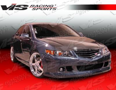 VIS Racing - Acura TSX VIS Racing K Speed Front Bumper - 04ACTSX4DKSP-001