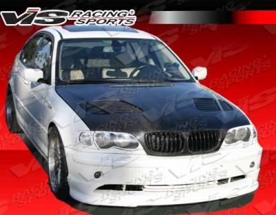 VIS Racing - BMW 3 Series 4DR VIS Racing Euro Tech Front Lip - 04BME464DET-011