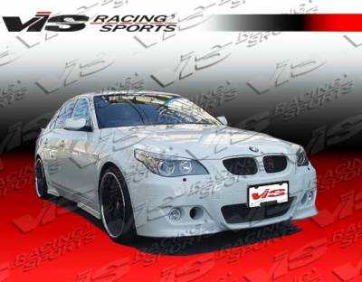 VIS Racing - BMW 5 Series VIS Racing Euro Tech Front Bumper - 04BME604DET-001