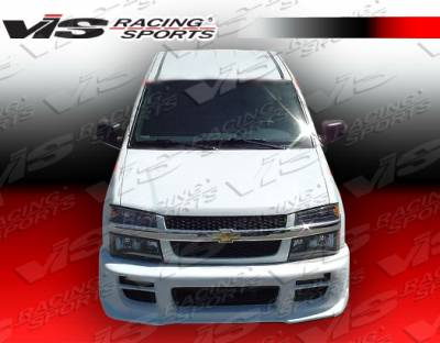 VIS Racing - Chevrolet Colorado VIS Racing Outcast Front Bumper - 04CHCOL2DOC-001