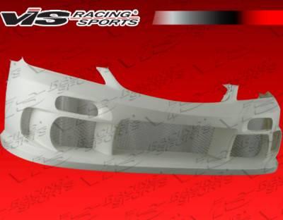VIS Racing - Honda Civic 2DR VIS Racing Terminator Type 2 Front Bumper - 04HDCVC2DTM2-001