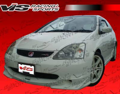 VIS Racing - Honda Civic VIS Racing Techno R Front Lip - 04HDCVCHBJTNR-011