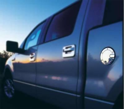 All Sales - All Sales Billet Fuel Door - Polished - 6050P