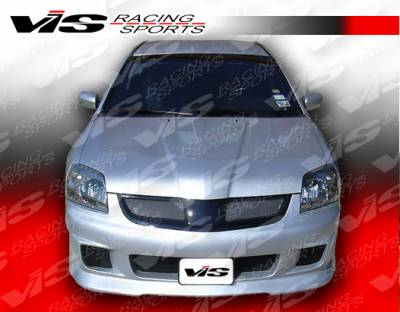 VIS Racing - Mitsubishi Galant VIS Racing G Speed Front Bumper - 04MTGAL4DGSP-001