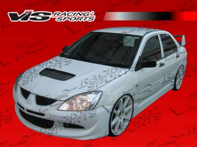VIS Racing - Mitsubishi Lancer VIS Racing EVO 8 Front Bumper - 04MTLAN4DEVO8-001