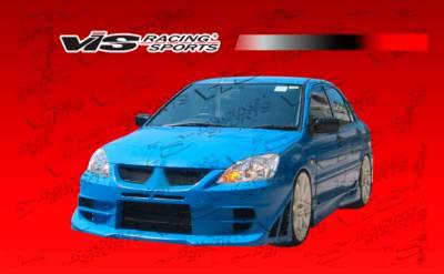 VIS Racing - Mitsubishi Lancer VIS Racing Walker Front Bumper - 04MTLAN4DWAL-001