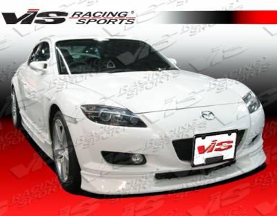 VIS Racing - Mazda RX-8 VIS Racing G-Speed Front Bumper - 04MZRX82DGSP-011