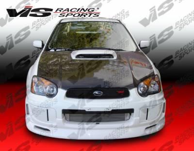 VIS Racing - Subaru WRX VIS Racing Z Speed Front Lip - 04SBWRX4DZSP-011