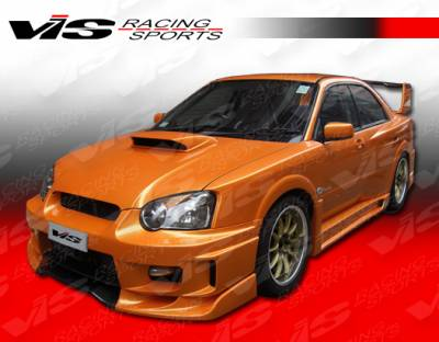 VIS Racing. - Subaru WRX VIS Racing Z Speed Widebody Front Bumper - 04SBWRX4DZSPWB-001