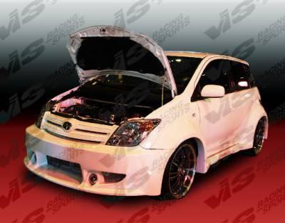 VIS Racing - Scion xA VIS Racing Tracer Front Bumper - 04SNXA4DTRA-001