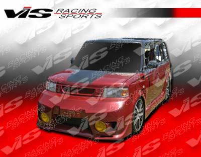 VIS Racing. - Scion xB VIS Racing EVO-5 Front Bumper - 04SNXB4DEVO5-001