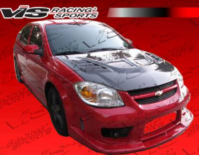 VIS Racing - Chevrolet Cobalt VIS Racing Striker Front Bumper - 05CHCOB2DSTR-001