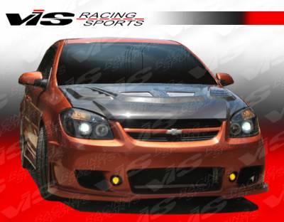 VIS Racing - Chevrolet Cobalt VIS Racing TSC-3 Front Bumper - 05CHCOB2DTSC3-001