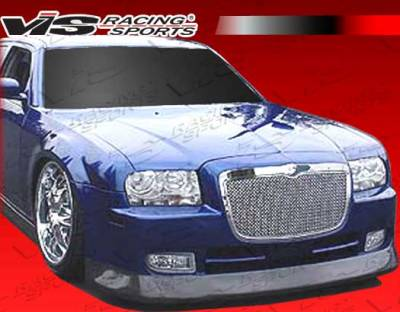 VIS Racing - Chrysler 300 VIS Racing VIP-4 Front Bumper - 05CY3004DVIP4-001