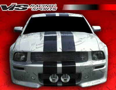 VIS Racing - Ford Mustang VIS Racing Extreme Front Bumper - 05FDMUS2DEX-001