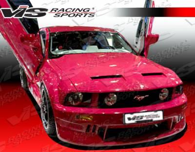 VIS Racing. - Ford Mustang VIS Racing TSW Front Bumper - 05FDMUS2DTSW-001