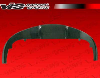 VIS Racing - Ferrari F430 VIS Racing N-Tech Carbon Fiber Front Lip Add-On - 05FR4302DNTH-011C