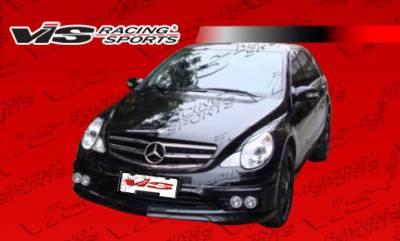 VIS Racing - Mercedes-Benz R Class VIS Racing VIP Front Bumper - 05MER2514DVIP-001