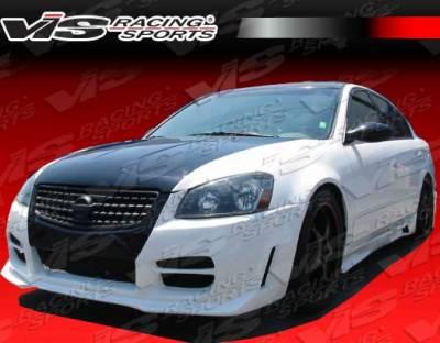 VIS Racing - Nissan Altima VIS Racing Octane Front Bumper - 05NSALT4DOCT-001