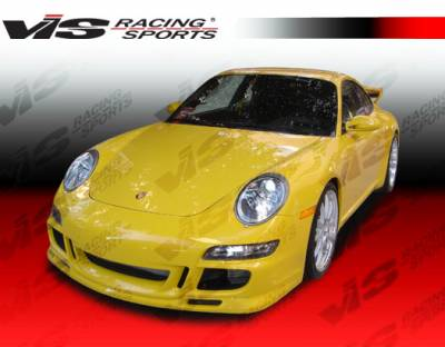 VIS Racing. - Porsche 911 VIS Racing A Tech Front Bumper - 05PS9972DATH-001