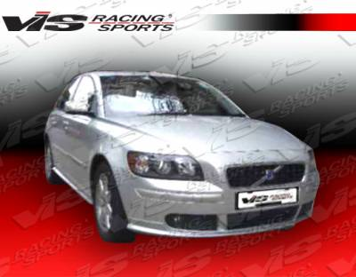 VIS Racing. - Volvo S40 VIS Racing Euro Tech Front Lip - 05VVS404DET-011