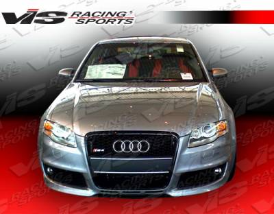 VIS Racing - Audi A4 VIS Racing RS4 Front Bumper - 06AUA44DRS4-001