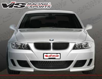 VIS Racing - BMW 3 Series 4DR VIS Racing Lux Production Front Bumper - 06BME904DLUX-001