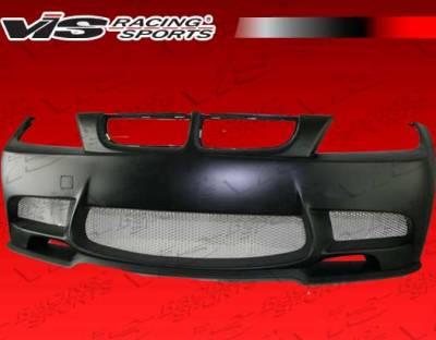 VIS Racing - BMW 3 Series VIS Racing E92 M3 Front Bumper - 06BME904DM3-001