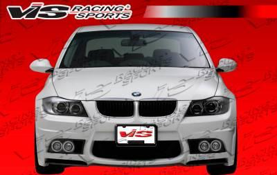 VIS Racing - BMW 3 Series VIS Racing VIP Front Bumper - 06BME904DVIP-001