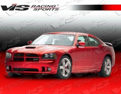 VIS Racing - Dodge Charger VIS Racing SRT Front Bumper - 06DGCHA4DSRT-001