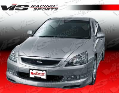 VIS Racing - Honda Accord 4DR VIS Racing Techno R-2 Front Lip - 06HDACC4DTNR2-011