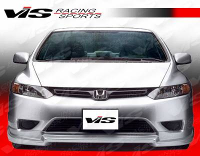 VIS Racing - Honda Civic 2DR VIS Racing Touring Front Lip - 06HDCVC2DTOU2-011