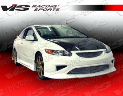 VIS Racing - Honda Civic 2DR VIS Racing Type R Concept Front Bumper - 06HDCVC2DTRC-001
