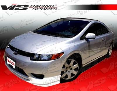 VIS Racing - Honda Civic 2DR VIS Racing Type R Front Lip - 06HDCVC2DTYR-011