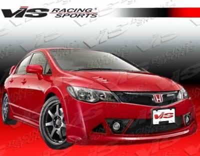 VIS Racing - Honda Civic 4DR VIS Racing RR Front Bumper - 06HDCVC4DRR-001