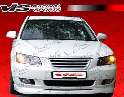 VIS Racing - Hyundai Sonata VIS Racing Type KD Lip - Polyurethane - 06HYSON4DKD-011P