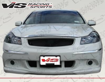VIS Racing - Infiniti M35 VIS Racing K Speed Front Bumper - 06INM354DKSP-001