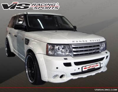 VIS Racing - Land Rover Range Rover VIS Racing Euro Tech Front Bumper - 06LRRRS4DET-001