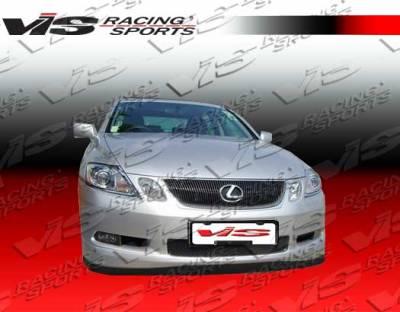 VIS Racing - Lexus GS VIS Racing Techno R Front Lip - 06LXGS34DTNR-011