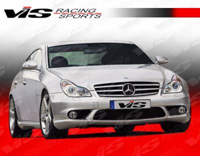 VIS Racing - Mercedes-Benz CLS VIS Racing Euro Tech Front Bumper - 06MEW2194DET-001