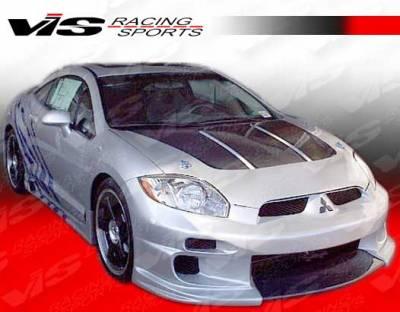 VIS Racing - Mitsubishi Eclipse VIS Racing Demon Front Bumper - 06MTECL2DDEM-001