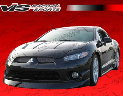 VIS Racing - Mitsubishi Eclipse VIS Racing Type KD Front Lip - Polyurethane - 06MTECL2DKD-011P