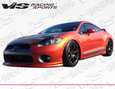 VIS Racing - Mitsubishi Eclipse VIS Racing Type-W Type-Front Lip - Polyurethane - 06MTECL2DWTY-011P
