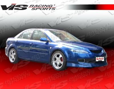 VIS Racing - Mazda 6 VIS Racing Techno R Front Lip - 06MZ64DTNR-011