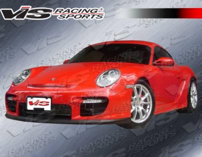 VIS Racing - Porsche Cayman VIS Racing D2 Front Bumper - 06PSCAM2DD2-001