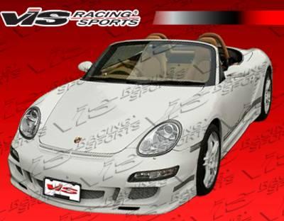 VIS Racing - Porsche Cayman VIS Racing D3 RS Front Bumper - 06PSCAM2DD3RS-001