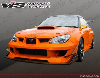 VIS Racing - Subaru WRX VIS Racing Oracle Front Bumper - 06SBWRX4DORA-001