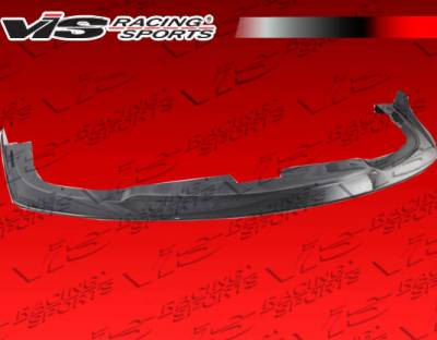 VIS Racing - Subaru WRX VIS Racing STI Z Speed Carbon Fiber Lip - 06SBWRX4DSZSP-011C