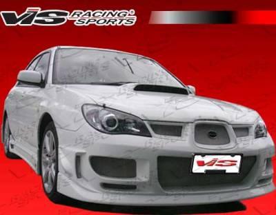 VIS Racing - Subaru WRX VIS Racing Z Speed Front Bumper - 06SBWRX4DZSP-001
