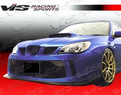 VIS Racing - Subaru WRX VIS Racing Z Sport Front Bumper - 06SBWRX4DZST-001
